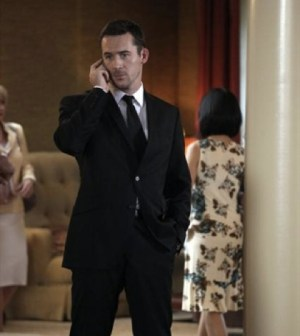 Barry Sloane as Aiden Mathis. Image © ABC Television Network