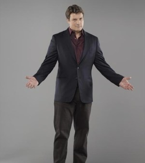 Nathan Fillion as Castle. Image © ABC