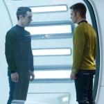 Benedict Cumberbatch as John Harrison, Chris Pine as Captain James Kirk (Photo © Paramount Pictures)