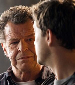 John Noble (l) and Josh Jackson (r) in Fringe. Image © FOX