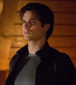 Ian Somerhalder as Damon. Image © The CW Network