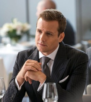 Gabriel Macht as Harvey Specter. Image © USA