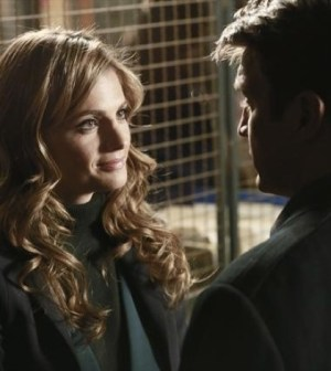 Stana Katic and Nathan Fillion in Castle. Image © ABC