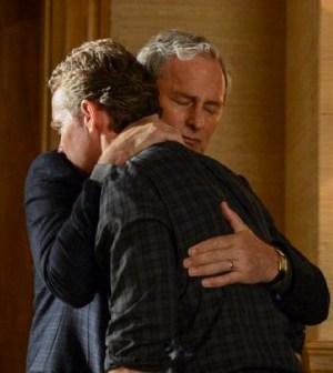 Victor Garber as Robert Bowers, Tate Donovan as Edward Bowers -- (Photo by: David Giesbrecht/NBC)