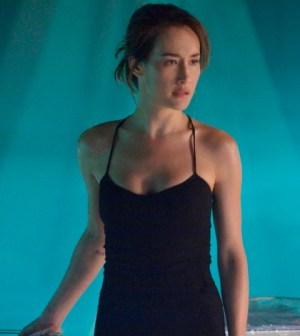 Maggie Q as Nikita. Image © The CW Network