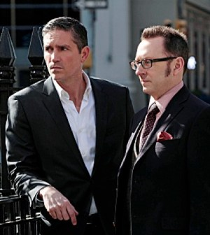 Jim Caviezel and Michael Emerson in Person of Interest. Image © CBS