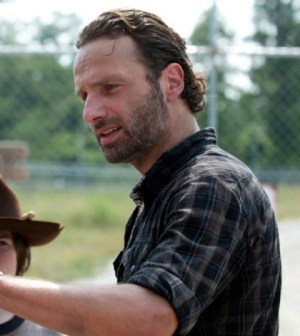 Andrew Lincoln as Rick Grimes. Image © AMC