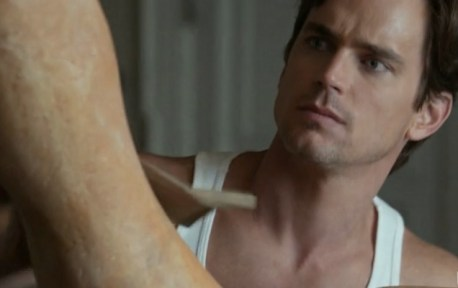 Neal Caffrey (Matt Bomer) creates a masterpiece (Image © USA Network)