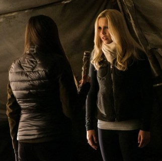 """Nina Dobrev and Claire Holt in """"Into the Wild"""" Image © The CW Network"""