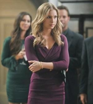Emily Van Camp as Emily Thorne/Amanda Clarke in Revenge. Image © ABC