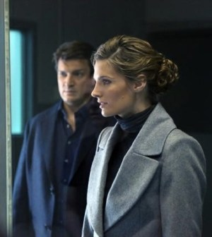 Nathan Fillion and Stana Katic in ABC's Castle.