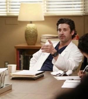 Patrick Dempsey in Grey's Anatomy. Image © ABC