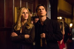 "Claire Holt and Ian Somerhalder in ""Bring it On."" Image © CW Network"