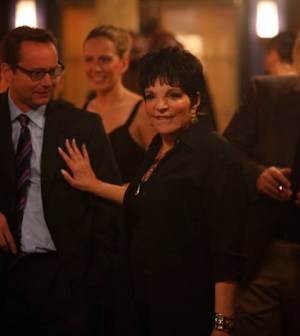 """Liza Minelli in Smash's """"The Surprise Party"""" (Photo by: Will Hart/NBC)"""