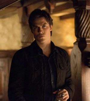 Ian Somerhalder as Damon. Image © CW Network