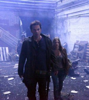Billy Burke as Miles Matheson, Tracy Spiridakos as Charlie Matheson -- (Photo by: Brownie Harris/NBC)