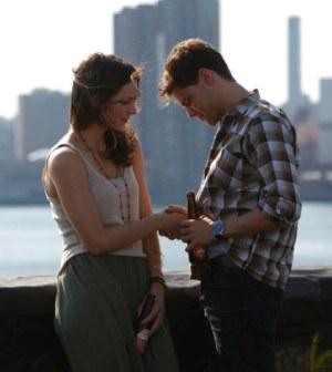 Katharine McPhee as Karen Cartwright, Jeremy Jordan as Jimmy Collins -- (Photo by: Will Hart/NBC)