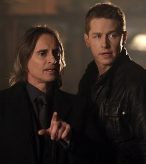 Robert Carlyle and Josh Dallas in Once Upon a Time. Image © ABC