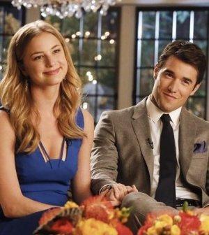 Emily VanCamp and Josh Bowman in ABC's Revenge