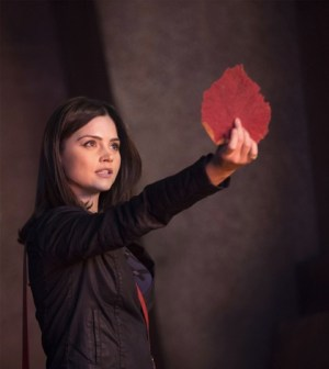 Jenna Louise Coleman in Doctor Who. Image © BBC