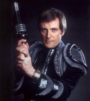 Paul Darrow as Avon. Image © BBC