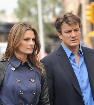 (ABC/Richard Foreman) STANA KATIC, NATHAN FILLION