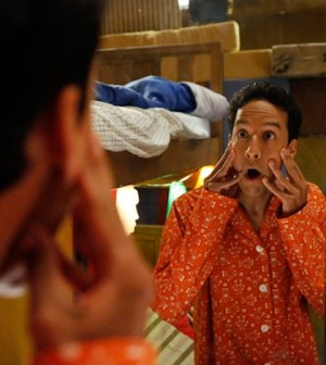 Danny Pudi as Abed -- (Photo by: Vivian Zink/NBC)