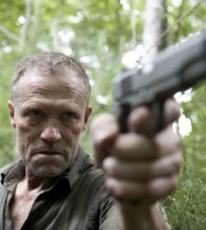 Michael Rooker as Merle in The Walking Dead. Photo by Gene Page/AMC