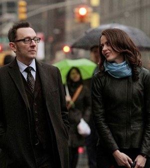 Michael Emerson and Amy Acker in Person of Interest. Image © CBS