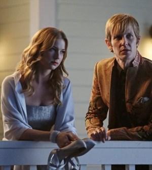 Emily Van Camp and Gabriel Mann in Revenge. Image © ABC