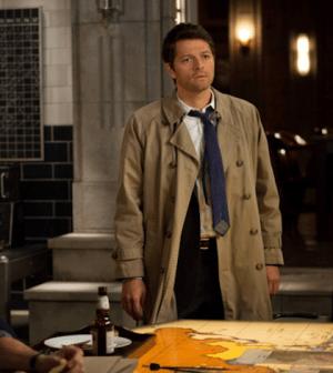 Misha Collins as Castiel. Image © The CW Network