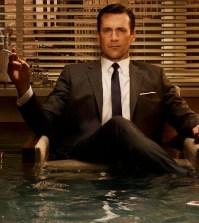 John Hamm as Don Draper on AMC's Mad Men (Image © AMC)