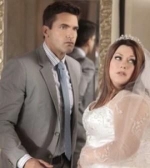 Jackson Hurst and Brooke Elliott in Drop Dead Diva. Image © Lifetime