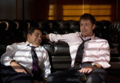 Pictured (l-r) John Ortiz, Greg Kinnear ©2013 Fox Broadcasting Co. Cr: Jaimie Trueblood/FOX