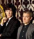 Benedict Cumberbatch and Martin Freeman as Holmes and Watson. Image © BBC
