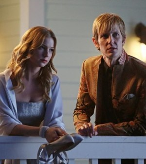Emily Van Camp and Gabriel Mann in Revenge. Image © ABC