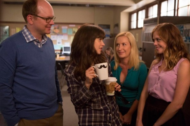 "Jess tries to fit in with her peers in New Girl's ""Nerd"" Episode. Image © FOX"