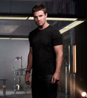 Pictured: Stephen Amell as Oliver Queen -- Photo: Mathieu Young/The CW