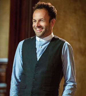 Jonny Lee Miller as Sherlock Holmes. Photo: JoJo Whilden /CBS