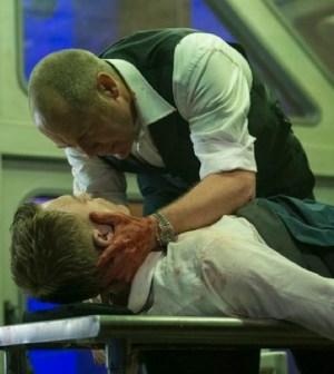 "Pictured: (l-r) Diego Klattenhoff as Donald Ressler, James Spader as Raymond ""Red"" Reddington -- (Photo by: David Giesbrecht/NBC)"
