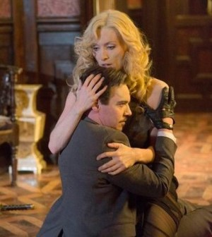 Pictured (L-R): Jonathan Rhys Meyers, Victoria Smurfit -- Photo by: Jonathon Hession/NBC