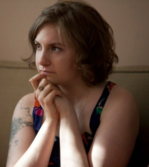 Lena Dunham in HBO's Girls. Image © HBO