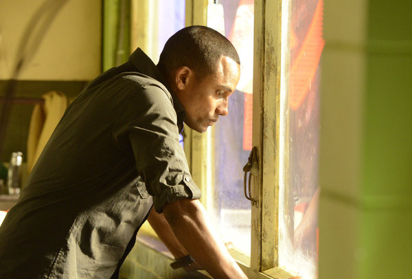 Hill Harper as Calder Michaels -- (Photo by Steve Wilkie/USA Network)