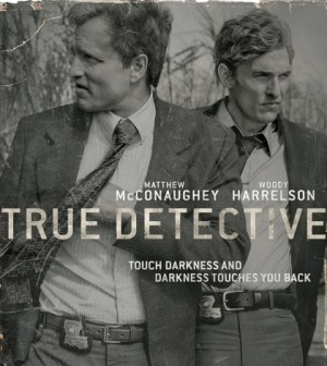 Woody Harrelson and Matthew McConaughey in True Detective. Image © HBO