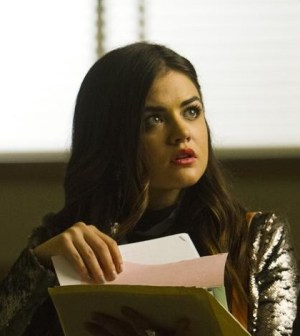 Pictured: Lucy Hale as Aria Montgomery -- Photo: (ABC Family/Adam Rose