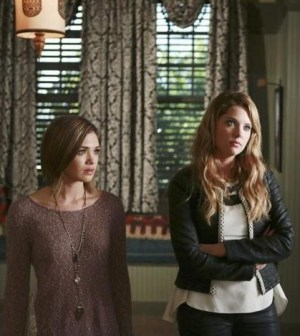 Pictured: Ashley Benson and Nicole Gale Anderson -- Photo: ABC FAMILY/Patti Perret