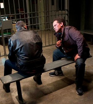 Pictured left to right: Jim Caviezel and Kevin Chapman Photo: John Paul Filo/CBS