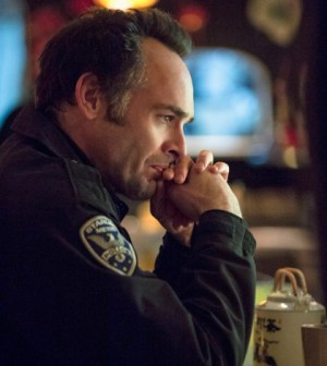 Pictured: Paul Blackthorne as Arrow's Quentin Lance. Photo: Cate Cameron/The CW