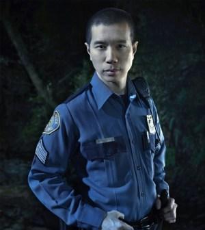 Reggie Lee as Sergeant Wu. Image © NBC