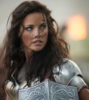 Jaimie Alexander as Lady Sif.